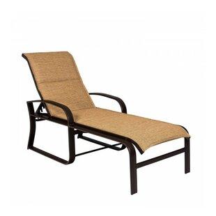 Woodard Cayman Isle Sling Reclining Chaise Lounge