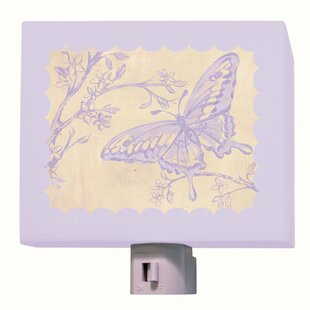 Oopsy Daisy Toile Butterfly Night Light