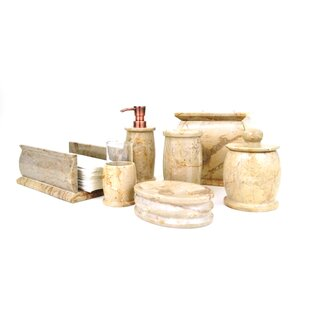 Pacific 7-Piece Bathroom Accessory Set by Nature Home Decor