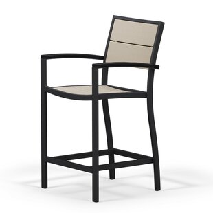 Metro Patio Counter Arm Chair by POLYWOOD?