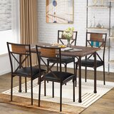 Port Lincoln 5 - Piece Dining Set by Williston Forge