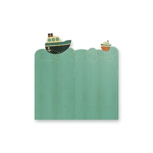 Cosme Boats Small Single Headboard By Zoomie Kids