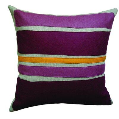 Designer Plum Purple Pillow Cushion 16