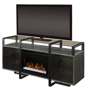 Milo TV Stand for TVs up to 65 with Fireplace by Dimplex