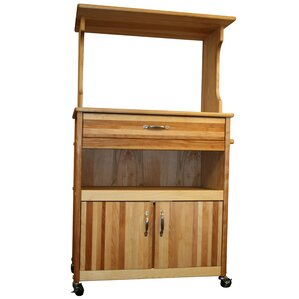 Farmhouse Microwave Cart by Catskill Craftsmen, Inc. Top Reviews