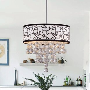 Warehouse of Tiffany Polka 4-Light Pendant