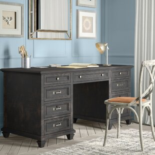 Altenburg Solid Wood Executive Desk
