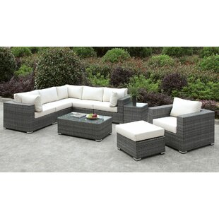 Brayden Studio Peters Outdoor Arm Chair with Cushions