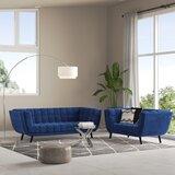 Seneca 2 Piece Living Room Set by Brayden Studio®