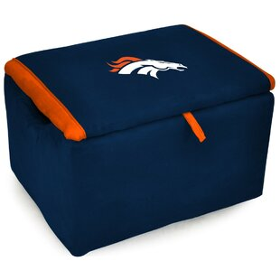 Inexpensive NFL Upholstered Storage Ottoman By Imperial International
