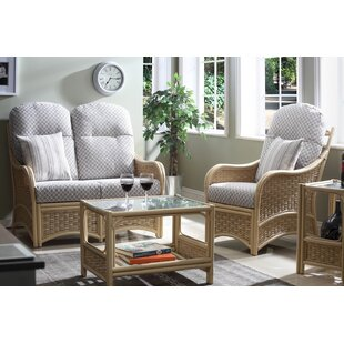 Review Angelica 4 Piece Conservatory Sofa Set