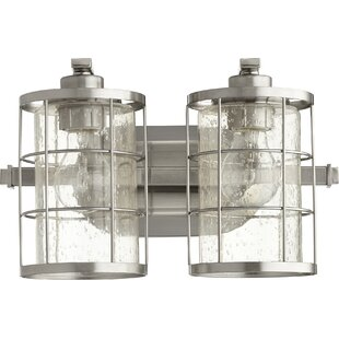 Bargain Ellis 2-Light Vanity Light By Quorum