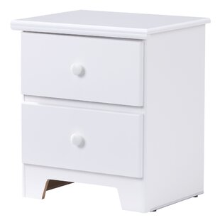 Best Reviews Shaker 2 Drawer Nightstand by Wildon Home®