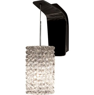 Compare prices Haven Bi-Pin 1-Light Armed Sconce By WAC Lighting