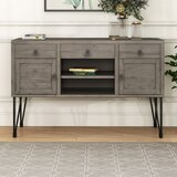 Deloatch Solid Wood TV Stand for TVs up to 49 by 17 Stories