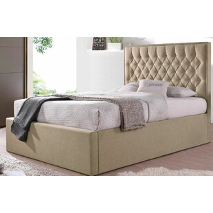Deloris Fabric Upholstered Ottoman Bed By Rosalind Wheeler