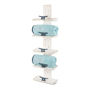 Montes Wood 5 Bottle Wall Mounted Wine Rack