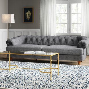 Calvert 3 Seater Chesterfield Sofa By Ophelia & Co.