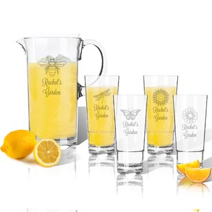 Personalized 5-Piece Beverage Serving Set