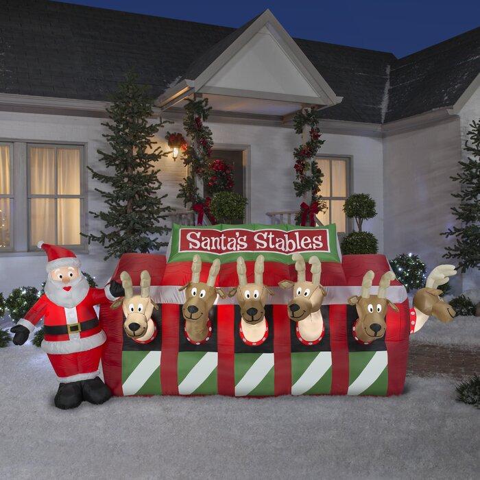1.8*1.8m Santa Claus Peeking Christmas Funny kids Fabric Bathroom Shower Curtain
