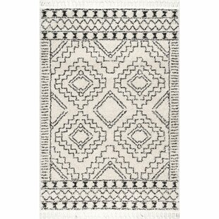 ALERT! Lederer Off-White Indoor Area Rug Union Rustic