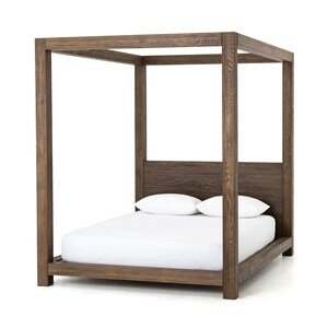 Wick Somerset Canopy Bed by Gracie Oaks