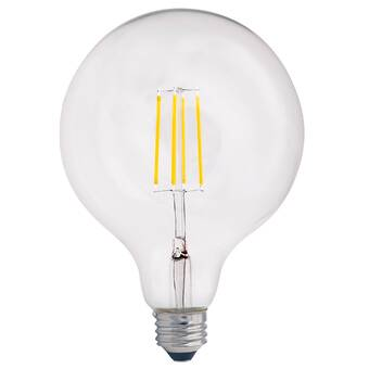 Bulbrite Industries 7 Watt 75 Watt Equivalent G40 Led Dimmable Light Bulb 2700k E26 Medium Standard Base Wayfair