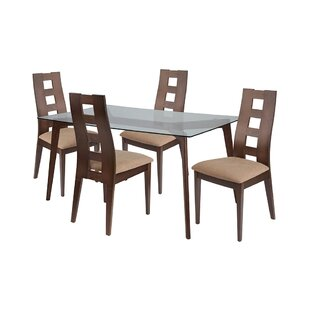 Rupert 5 Piece Dining Set by Ebern Designs