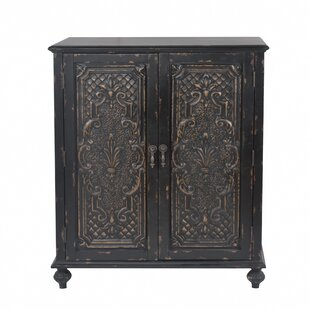 Wiest Ornate Front 2 Door Accent Cabinet by Bloomsbury Market