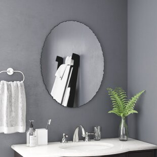 Rosdorf Park Agrippa Chiseled Edge Bathroom/Vanity Mirror