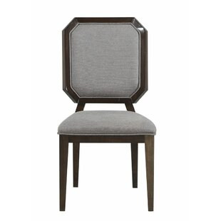 Bloomington Upholstered Dining Chair (Set of 2) Foundry Select