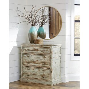Stpierre 3 Drawer Accent Cabinet by Gracie Oaks