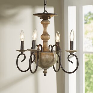 Lark Manor Salette 4-Light Semi Flush Mount/Flush Mount