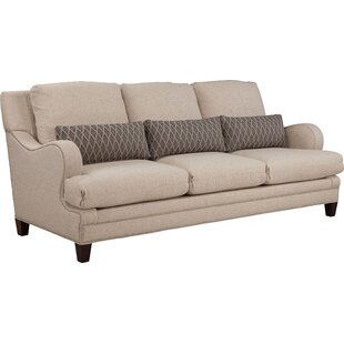 Layered Back Shaped English Arm Sofa