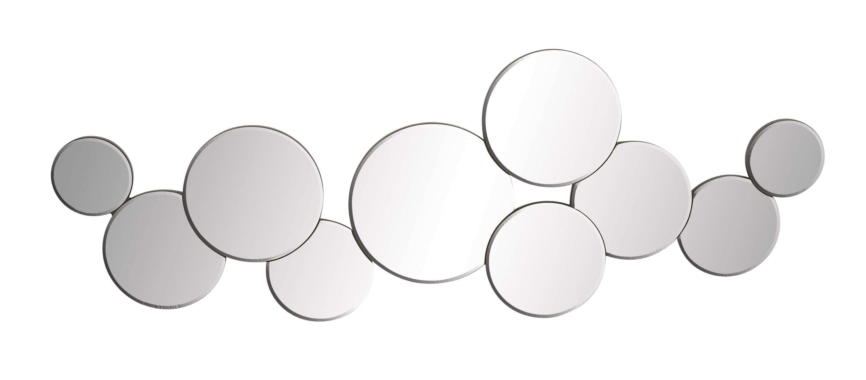 size pin circle lulu decor round oriental metal mirror frame silver wall