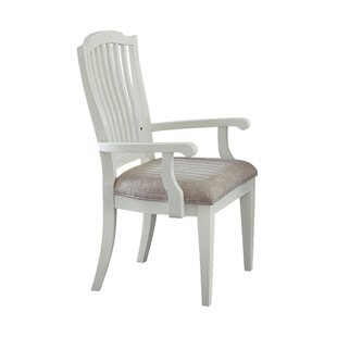 Fairfax Dining Chair with Arms (Set of 2) Ophelia & Co.
