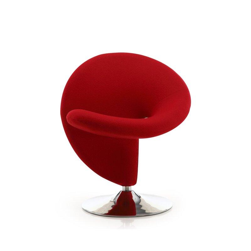 Orren Ellis Herkimer Swivel Lounge Chair Amp Reviews Wayfair