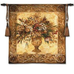 Tuscan Urn Sienna Tapestry