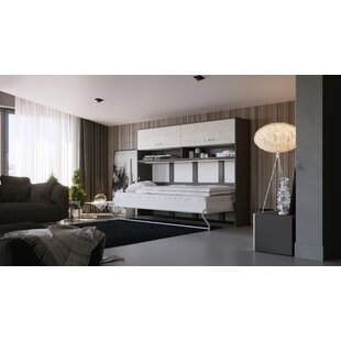 Battaglia European Single (90 X 200cm) Murphy Bed By Ebern Designs