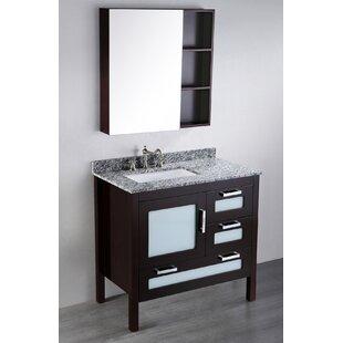 Netto 37 Single Bathroom Vanity Set with Mirror by Ebern Designs