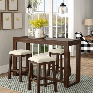 Mac 4 Piece Pub Table Set Gracie Oaks
