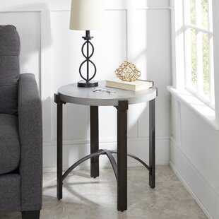 Bourque End Table by Ivy Bronx