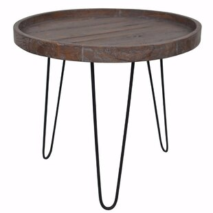Sanjuana Retro Accented End Table by Ivy Bronx