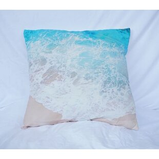 Sturtz Beach Shores Cotton Throw Pillow