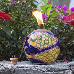 Legends International LLC Mexican Clay Tabletop torch