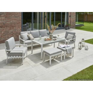 Wenzel 7 Seater Sofa Set By Sol 72 Outdoor