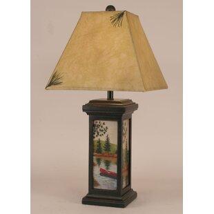 Coast Lamp Mfg. Rustic Living Small Square Pot 28.5