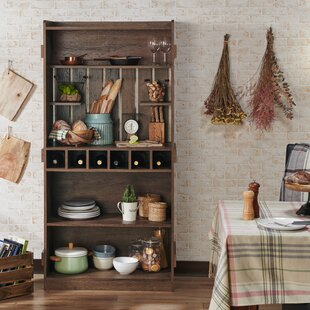Loon Peak Wilburn Farmhouse Manufactured Wood Baker's Rack