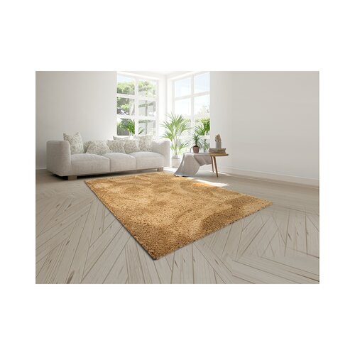 Erasmos Tufted Tan Rug Ebern Designs Rug Size: Runner 200 x