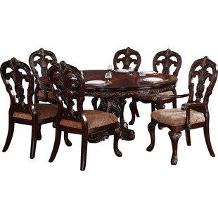 Astoria Grand Chalus 7 Piece Extendable Dining Set